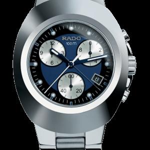 MEN RADO The Original R12638173 XL Chrono, Black/Blue