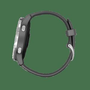 GARMIN GARMIN Vivoactive 4 – 010-02174-09 Digital Dial Shadow Grey Rubber Strap