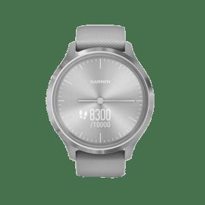 GARMIN GARMIN Vivomove 3 – 010-02239-80 Silver Dial Grey Rubber Strap